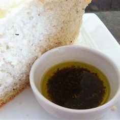 Olive Oil Dip for Italian Bread cup olive oil 5 cloves garlic 2 tablespoons balsamic vinegar 2 tablespoons Parmesan cheese 1 tablespoon crushed dried oregano fresh ground black pepper, to taste Chimichurri, Appetizer Dips, Appetizer Recipes, Olive Oil Dip For Bread, Sauce Carbonara, Bread Dipping Oil, Italian Bread Recipes, Great Recipes, Favorite Recipes
