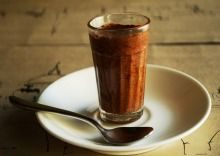 Chocolate Mousse at Suzette in Nariman Point.  Shop 1A, Ground Floor, Atlanta Building, Nariman Point. Tel: 2288 0055.