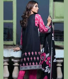 Monsoon Printed Cambric Suit collection By Al-Zohaib Textile AZ_7B