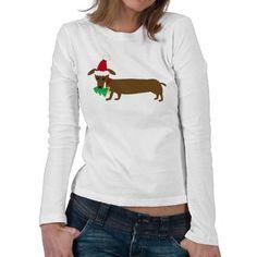 Christmas Dachshund Shirt