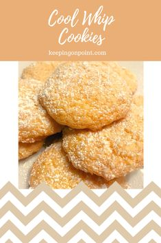 Cool Whip Cookies - Weight Watchers recipe #weightwatchers #weightwatchersrecipes #healthy #lowfat #cookies #weightwatcherscookies