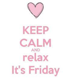 Iedereen alvast een heel fijn weekend!!