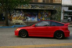 Red crx !