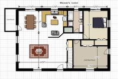 inside pole barn floor plans | 32x48 timberframe plans.. In need of some review Bedroom Flooring, Pole Barn House Plans, Pole Barn Homes, Cordwood Homes, Playground Flooring, Transition Flooring, Pallet Playhouse, Armstrong Flooring