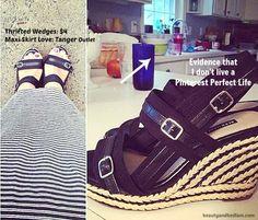 Summer wedges: Frugal Fashionista: