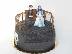 Halott menyasszony torta  Corpse bride cake