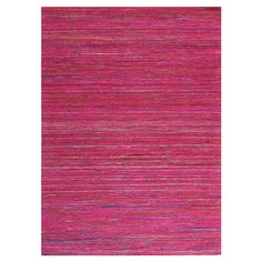 Hand-loomed rug.  Product: RugConstruction Material: ViscoseColor: Red Note: Please b...