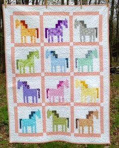 QDNW Patch Pony block pattern