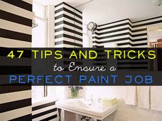 47 Tips And Tricks To Ensure A Perfect Paint Job - lifestyle Tips And Tricks, Paint Furniture, Furniture Makeover, Home Renovation, Home Remodeling, Home Repair, Painting Tips, Spray Painting, House Painting