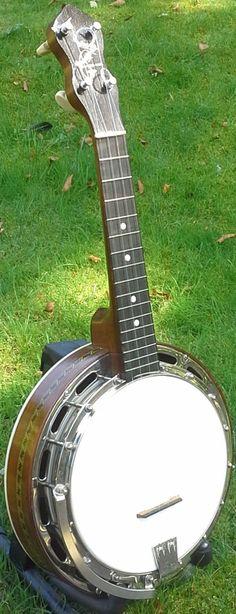 Ludwig Wendall Hall Professional Banjo Ukulele  --- https://www.pinterest.com/lardyfatboy/