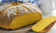 PAN DE CALABAZA 500 gr de calabaza (zapallo) troceada (pelada  y sin semillas) o 300 gr de puré de calabaza enlatado 2 cucharaditas de levadura seca de panadería 2 cucharaditas de miel 500 gr de harina de fuerza 2 cucharaditas de sal  http://www.hogarutil.com/cocina/recetas/postres/201310/calabaza-22025.html