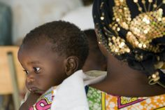 """Mother and child at Kigali's """"Village of Hope"""""""