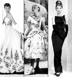 Funny Face, Sabrina (Movie - 1954)   Designer: Hubert Givenchy Givenchy had a hand in creating some of the most famous images of the Audrey Hepburn era, including the little black dress…