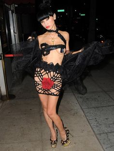 Bai Ling - what is this supposed to be???? tacky, tacky, tacky...