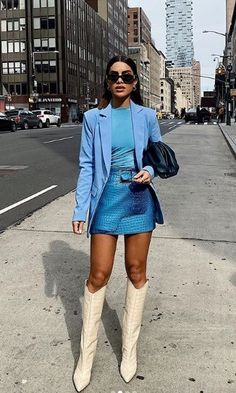 Winter Fashion Outfits, Chic Outfits, Autumn Winter Fashion, Trendy Outfits, Unique Outfits, Look Street Style, Autumn Street Style, Botas Western, Mode Style