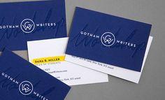 Gotham Writers Workshop by Hyperakt Design Group, via Behance