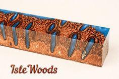Banksia Pod Top Shelf Acrylic Tang Knife Handle Jumbo Pen Blank  (BNK1008)P,FS #Islewoods