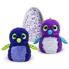 Hatchimals - Hatching Egg - Interactive Creature - Draggle - Blue/Purple Egg