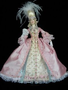 About Rose Marie: This is my first collection series of Marie Antoinette fashion ensembles.