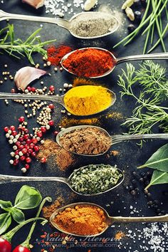 Herbs and spices selection by Natalia Klenova on 500px