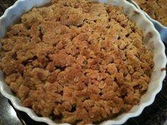 Mums: Amerikansk æblekage med smuldredej