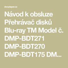 Návod k obsluze Přehrávač disků Blu-ray TM - PDF Stažení zdarma Modeling, Blues, Modeling Photography, Models