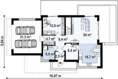 Casa moderna con espectacular diseño, 4 dormitorios y 2 garajes-9