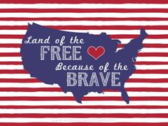 Land of the Free #printable by lovebakesgoodcakes.com