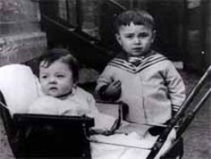 The two children, son and daughter of Baruch and Faiga Goldenberg, were born and lived in Biala Podlaska, Poland.  The boy was 6 and his sister was 4 when they died.