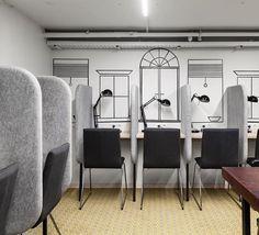 Кусочек нашей рабочей зоны: множество розеток, светильников, а так же есть компьютер для общего пользования.  Место доступно для всех желающих  Можно заодно ухватить чашечку бесплатного кофе Продуктивного всем понедельника! #netizenhostel #вмоскву #design #hostel #work #хостел #хостелмосква #дизайн #рабочееместо