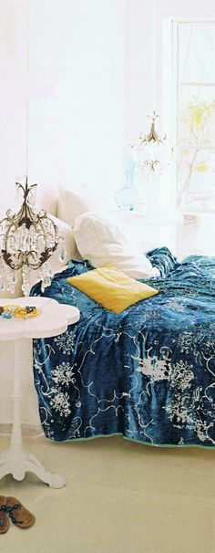 beautiful bed linens