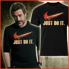 Just do it with Negan #twd #lucille #negan #merchandise #collectibles #television #horror #blood
