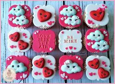 Кексы Красотки Святого Валентина