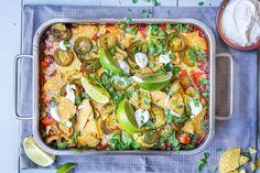 Enkel og sunn ukesmeny for hele familien Food Hacks, Food Tips, Tex Mex, Snacks, Pasta Salad, Zucchini, Food And Drink, Vegetables, Ethnic Recipes