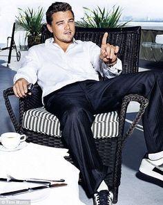 Leonardo DiCaprio. Ill let him scold me any day.