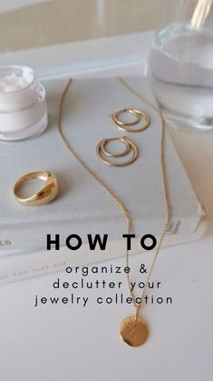 Declutter Your Life, Budget Organization, Minimalist Lifestyle, Staying Organized, Jewelry Collection, Nail Art, Storage Ideas, Jewellery, House