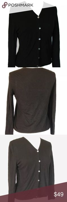 Enyce Men's Solid Black Cardigan Sweater Size XL   Cardigans For ...