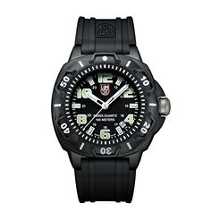 Men's Wrist Watches - Luminox Mens 0201SL Sentry 0200 Black Case With Luminescent Accents Black Rubber Band Watch -- You can find more details by visiting the image link. (This is an Amazon affiliate link)