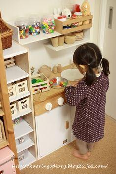 カラーボックスで手作りままごとキッチン・製作過程の補足~ねじ止め位置について<追記あり&訂正あり> - RINGO diary