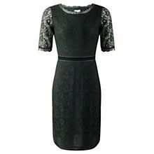 Buy Jigsaw Fitted Lace Dress, Green Online at johnlewis.com http://www.johnlewis.com/jigsaw-fitted-lace-dress-green/p1695834