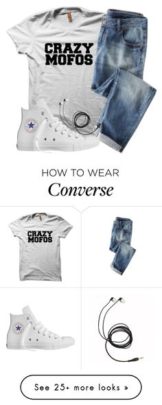 """mofo"" by adele-adik on Polyvore featuring Converse"