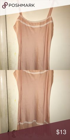 NWOT VICTORIAS secret nightie Size large Peach chiffon Victoria's Secret Intimates & Sleepwear Chemises & Slips