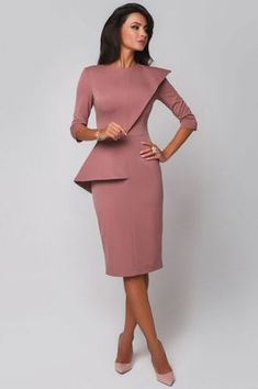 138 ideas dress outfit wedding haute couture – page 1 Elegant Dresses, Casual Dresses, Short Dresses, Dresses For Work, Office Dresses, Classy Dress, Classy Outfits, Beautiful Outfits, Beauty And Fashion