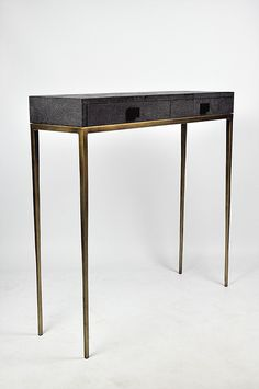 Ginger Brown France,galuchat,shagreen furniture