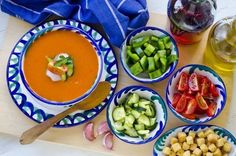 Best Gazpacho Ever: The only gazpacho recipe you'll ever need - Healthy Eat Nutribullet Recipes, Smoothie Recipes, Protein Smoothies, Fruit Smoothies, Bullet Recipes Healthy, The Best Gazpacho Recipe, Weight Watchers Smoothies, Clean Eating Snacks, Healthy Kid Snacks