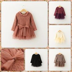 Princess Kid Girls Candy Color Tutu Lace Dresses Princess Floral Embroider Bows Party Dresses Western Fashion Vintage Fall Dress-in Dresses from Mother & Kids on Aliexpress.com | Alibaba Group