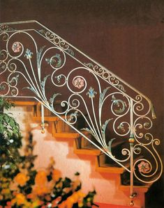 fancy iron rails | To obtain an estimate, click here to see instructions.