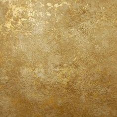 using Modern Masters Metallic paint Champagne, Bright Gold Foil, Sponge, Sea Sponge Roller, Rough Regular Texture by Proceed Metallic Paint Walls, Gold Painted Walls, Hand Painted, Faux Walls, Textured Walls, Faux Finishes For Walls, Faux Painting Walls, Paint Finishes, Painting Tips