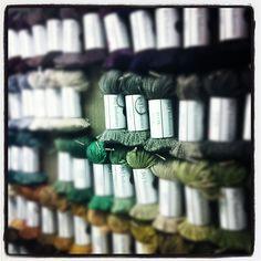 Rows of hues