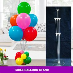 10 PCS Clear Balloons Base Pole with Cup Stand Party Latex Balloons -Ballons Wholesale Supplier- Cool Fashion Gift - Camera - Jake Paul - Fashion Balloon Centerpieces, Balloon Decorations Party, Balloon Garland, Birthday Party Decorations, Balloon Balloon, Balloon Bouquet, Plastic Balloons, Clear Balloons, Latex Balloons